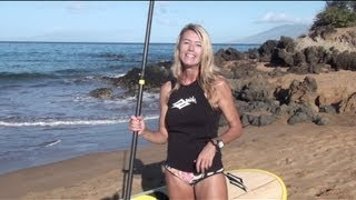 Stand Up Paddle Training Video Adding A New Dimension to Your SUP Performance