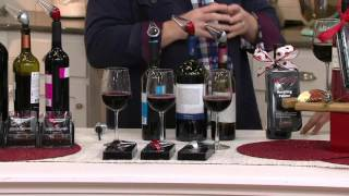 Houdini Set of 3 Wine Aerator Pourers with Gift Box on QVC
