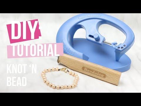 Schmuck machen: Beadalon Schmuck knoten ♡ DIY
