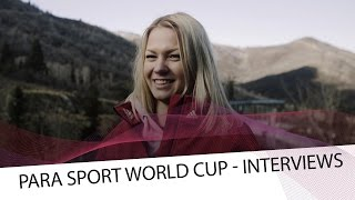 Krumina gives her thoughts about Para Sport | IBSF Para Sport Official
