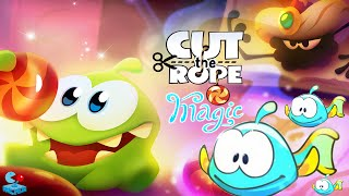 Cut The Rope: Magic - Sea Kingdom Walkthrough All Levels