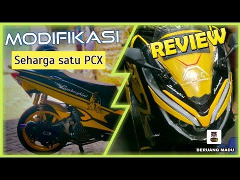 MODIFIKASI SEHARGA 1 PCX. Honda PCX 150 Indonesia with Lamborghini Concept