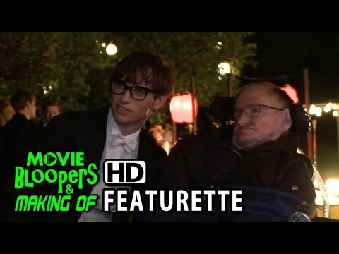 The Theory of Everything (2014) Featurette - Stephen Hawking's Set Visit streaming vf