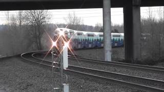 SOUNDER commuter trains @ Black River Junction