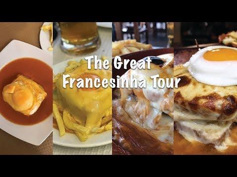 DaHungryCouple eats Porto EP3 : Francesinha Tour  四款波尔图Francesinha三明治推介