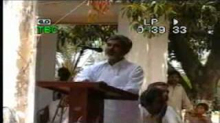 Mr Syed Musawir Hussain Naqvi President of Labour Union All Pakistan in Talla Gang speech part 1