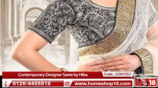 HomeShop18.com - Amisha - Pick Any 1 Contemporary Designer Saree by Hiba