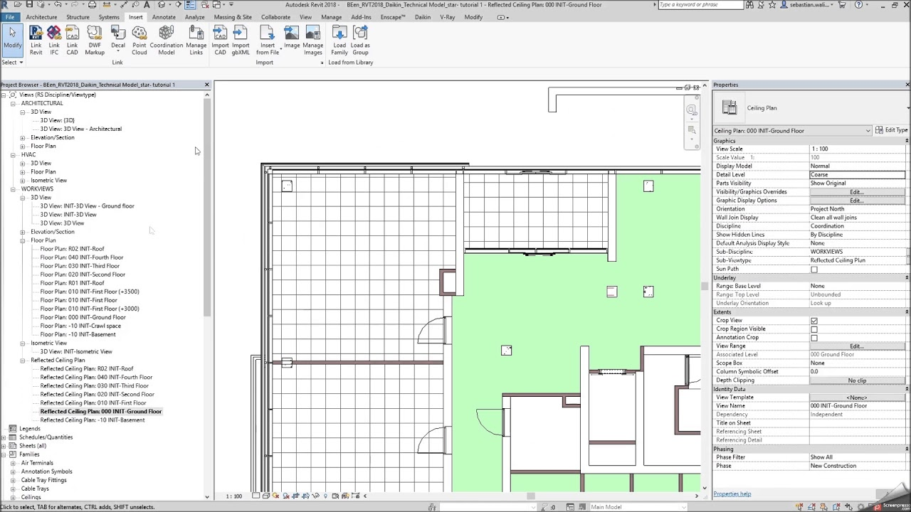 BIM tutorial - How to load a BIM object into Revit