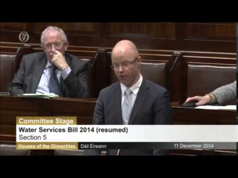 The Dáil  is barred from discussing Irish Water's Finances