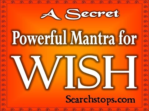 Fast Working Wish Mantra - Make Your Any Wish Come true