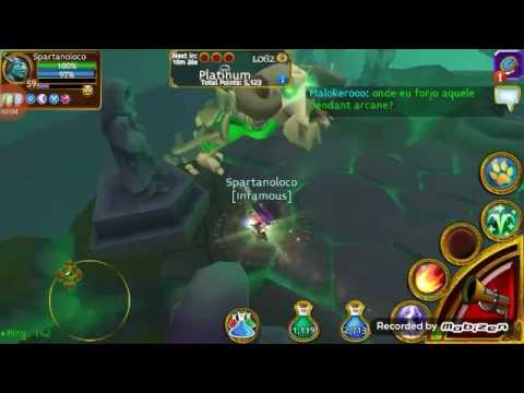 Arcane Legends Kill Boss Para Solo