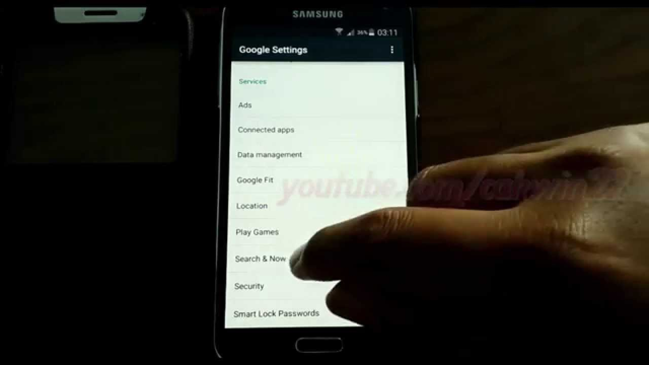 Android Lollipop : How to Change Google search language in Samsung Galaxy S5