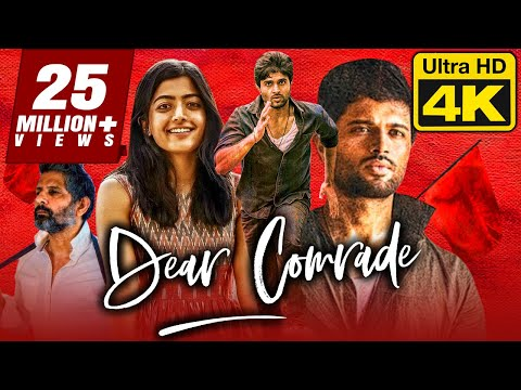 Dear Comrade (4K Ultra HD) - Vijay Devarakonda (2020) Hindi Dubbed Full Movie   Rashmika