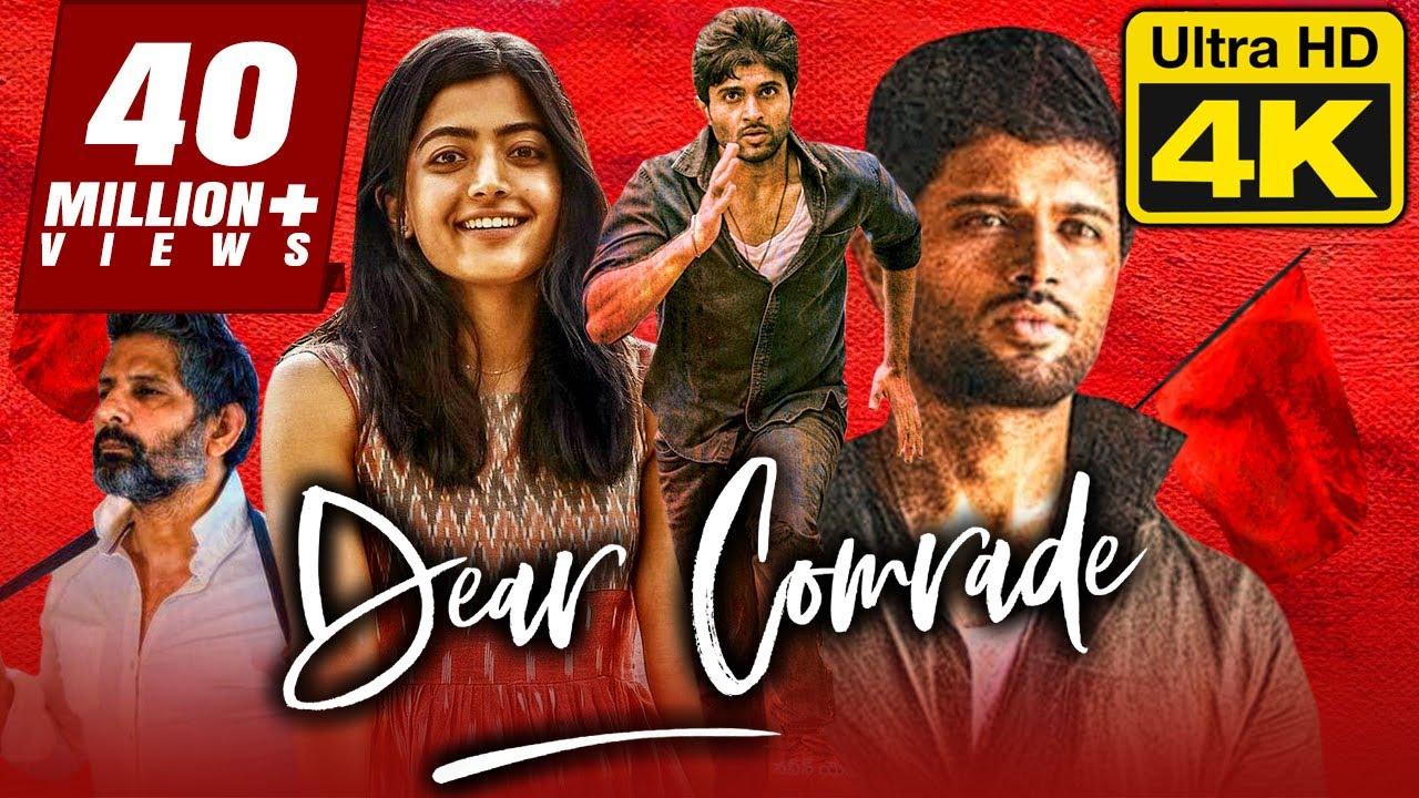 Download Dear Comrade (4K Ultra HD) - Vijay Devarakonda (2020) Hindi Dubbed Full Movie | Rashmika