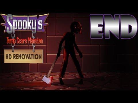 អាថ៌កំបាំងបន្ទប់ទី1000 | Spooky's Jump Scare Mansion HD Renovation | Ending