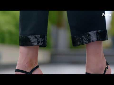 Legwear Trim Paillet