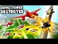 TOTAL Destruction UFO Jets Destroy EIFFEL TOWER Total Tank Simulator mp3
