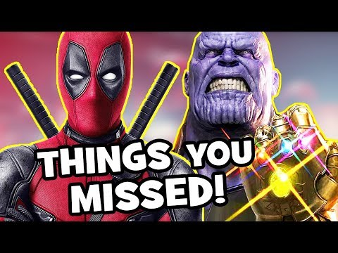 DEADPOOL 2 TRAILER: Avengers Infinity War Easter Eggs & Things You Missed - Deadpool Meet Cable