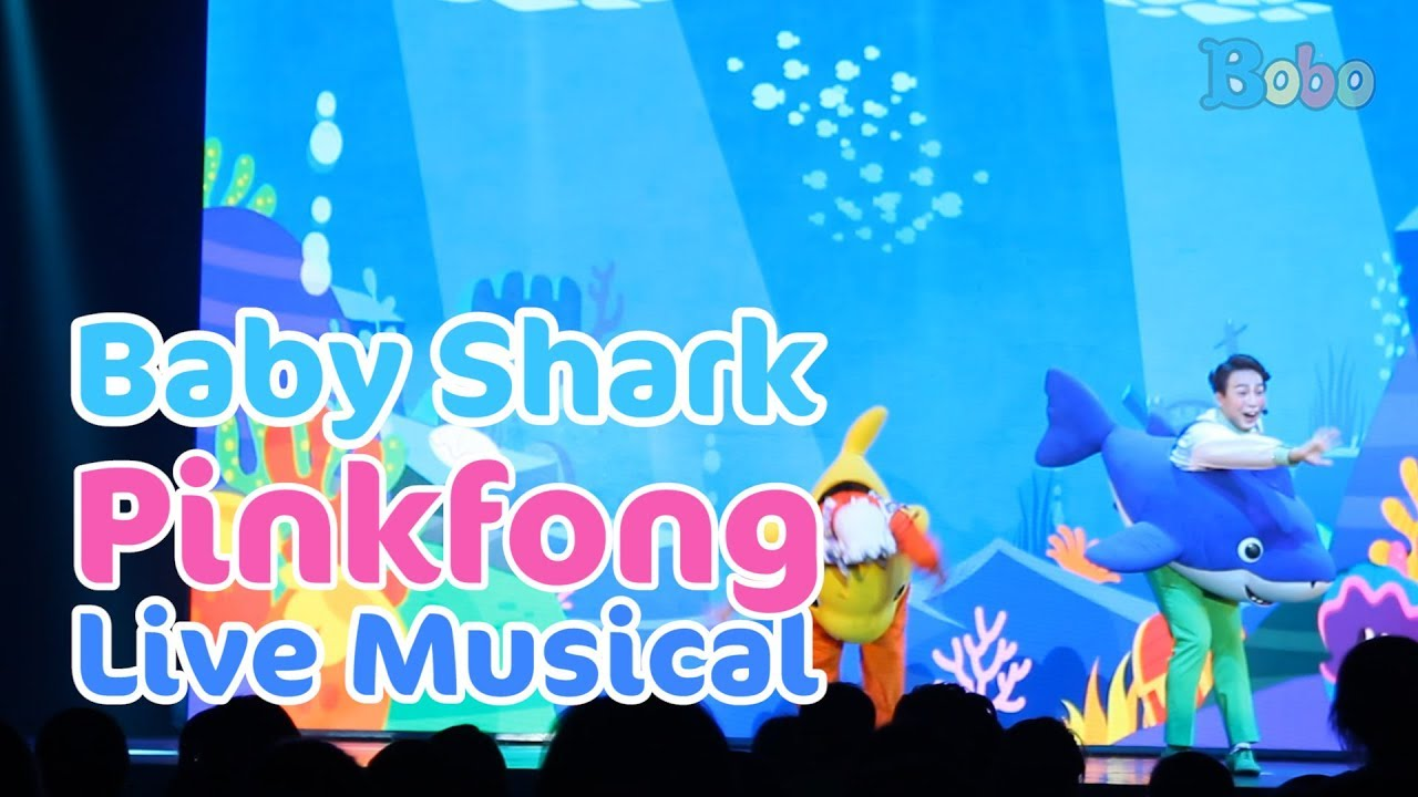 Baby Shark Pinkfong Baby Shark Live Musical