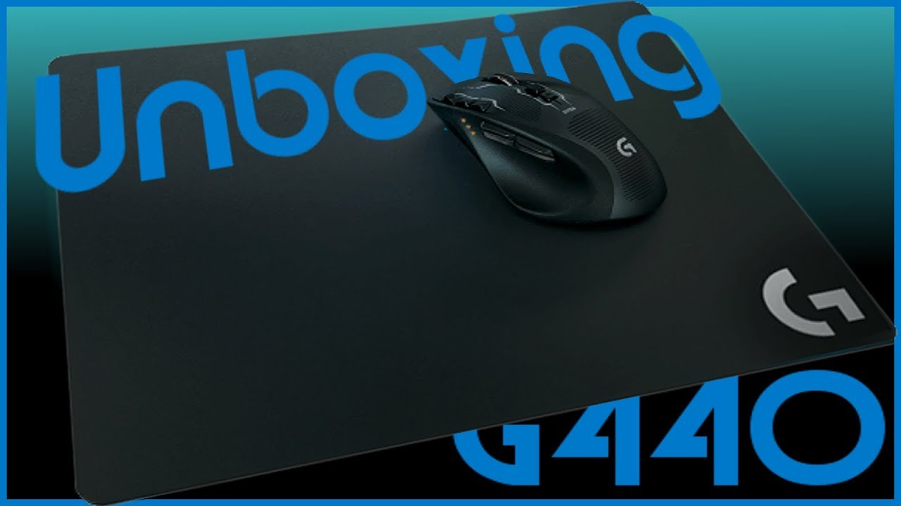 12af618c1fd Logitech G440 Hard Gaming Mouse Pad Unboxing and (Mini) Review - YouTube
