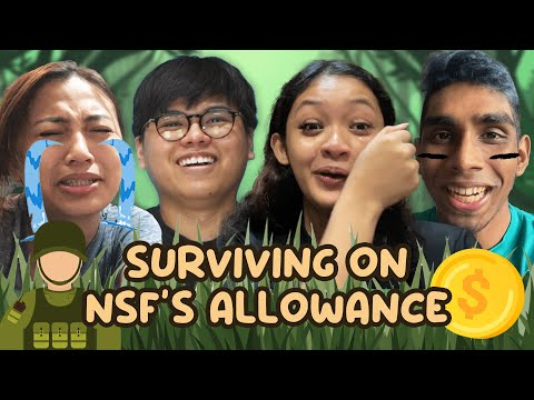 Singaporeans Try: Surviving On NSF Allowance For A Week