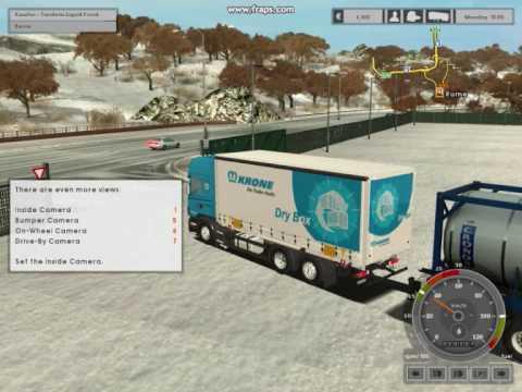 Скачать моды на игру Euro Truck Simulator