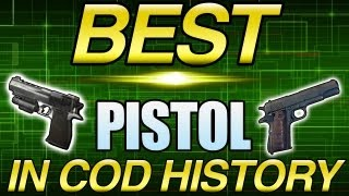 Best Pistol in Cod History Is? (Call of Duty Breakdown)