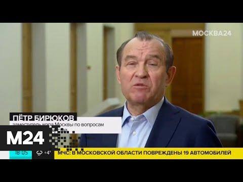 Видео: Бирюков рассказал о масштабах ущерба от штормового ветра - Москва 24