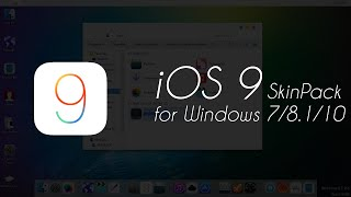 iOS 9 SkinPack for Windows 7/8.1/10