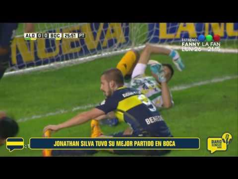 El mejor partido de Jonathan Silva en Boca