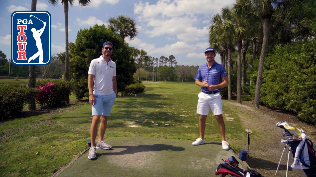 Sam Ryder and Doc Redman faceoff at Palm Valley Golf Course