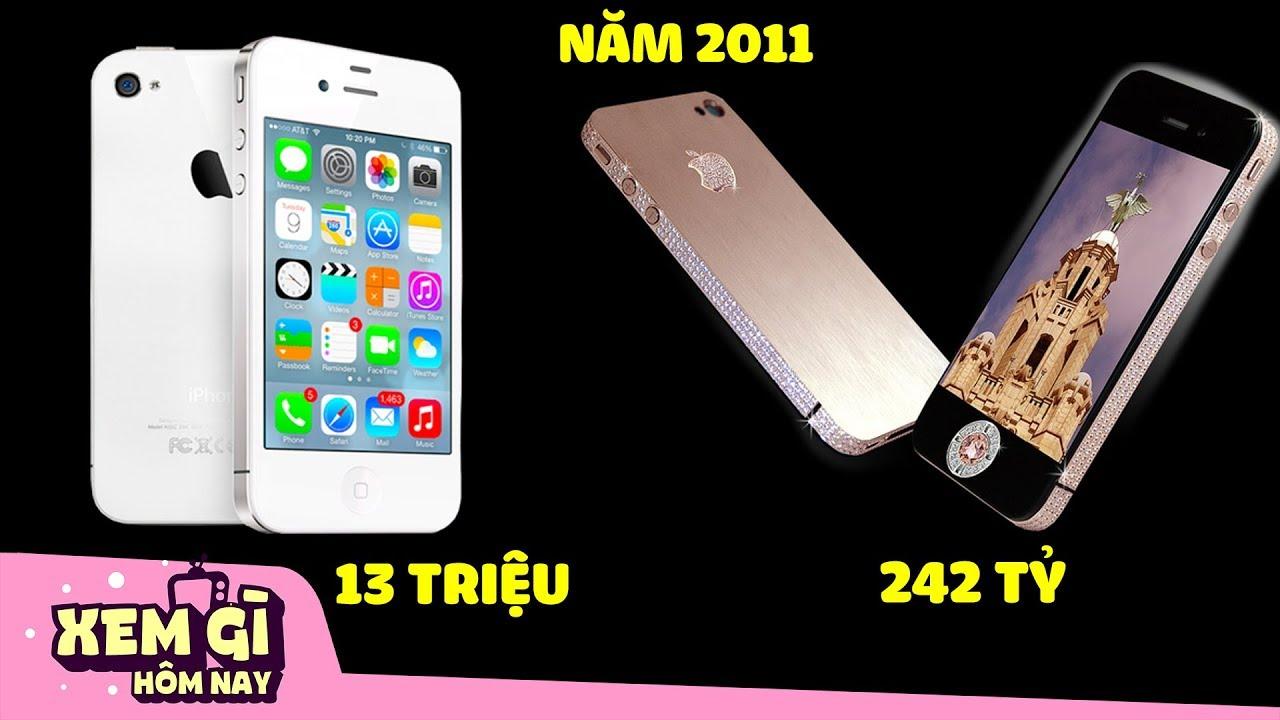"""iPhone 4s Giá 242 Tỷ Và 10 Thú """"Chơi Tiền"""" Khác Biệt Của Giới Siêu Đại Gia   Xem Gì Hôm Nay"""