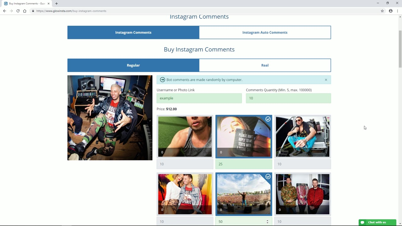 BUY REAL ACTIVE INSTAGRAM COMMENTS - Buy Instagram Followers