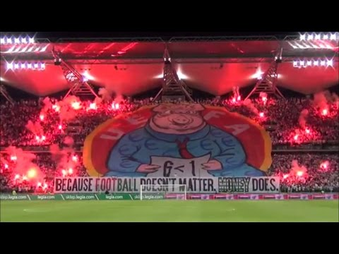 Legia Warsaw Fans Protest Against UEFA After UCL Expulsion ● HD 720p