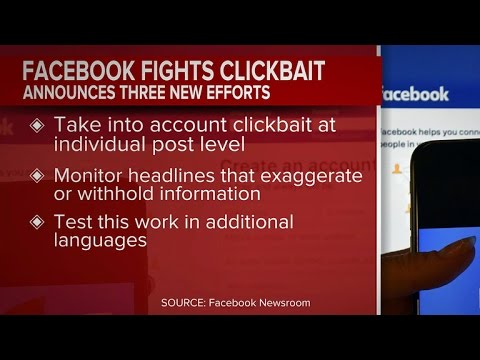 Facebook aims to combat clickbait
