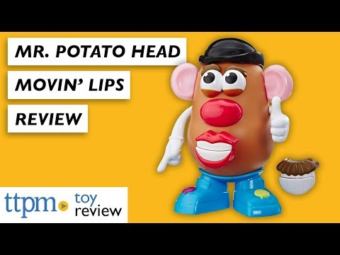 Have You Seen The NEW Mr. Potato Head Movin' Lips From Hasbro
