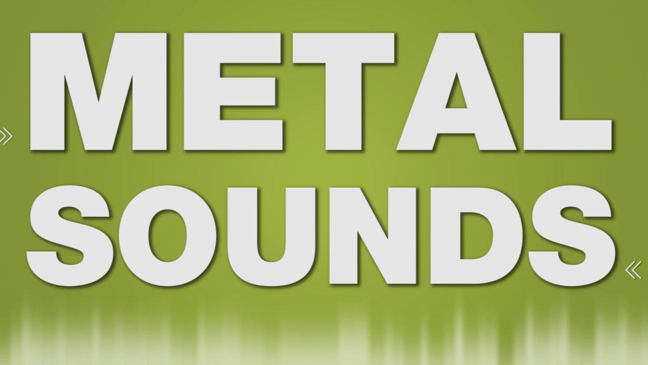 Metal Hit Steel Rack SOUND EFFECT - Stahlregal Metal SOUNDS