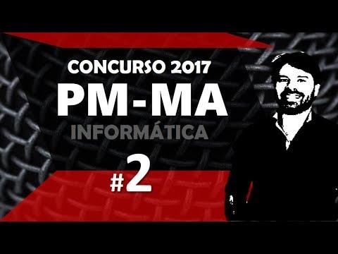 Concurso PM MA 2017 Maranhão #2 Informática