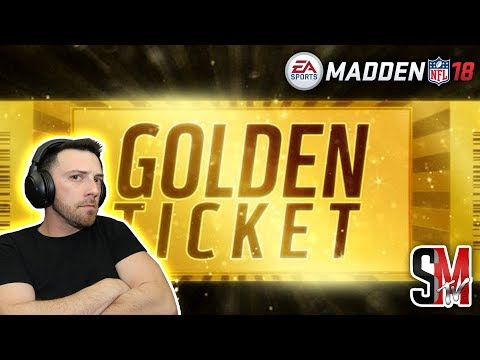 Pulling For Golden Tickets! Lets Be Great! Madden NFL 18