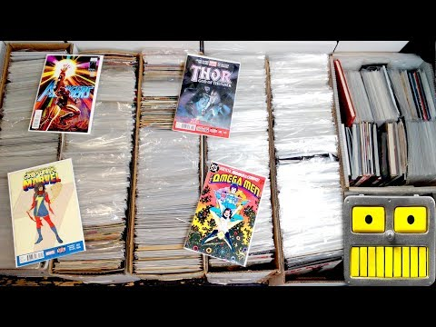 I Purchased 6 Long Boxes of Comic Books for $700 Key issues Variants Comics Collection Haul