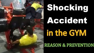 Most Shocking Accident in the GYM while LEG PRESSING - Reason & Prevention