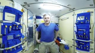 Good Morning Station! Waking up in Space (360 Video)