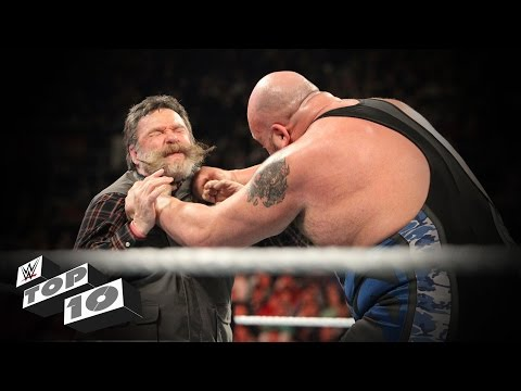 Superstar Managers Getting Manhandled: WWE Top 10