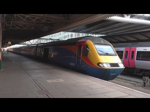 Trains at Nottingham | 29/11/2017