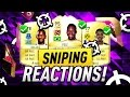 FIFA 17 | POSITION CHANGE AND CHEM STYLE SNIPING | SNIPING REACTIONS EP9