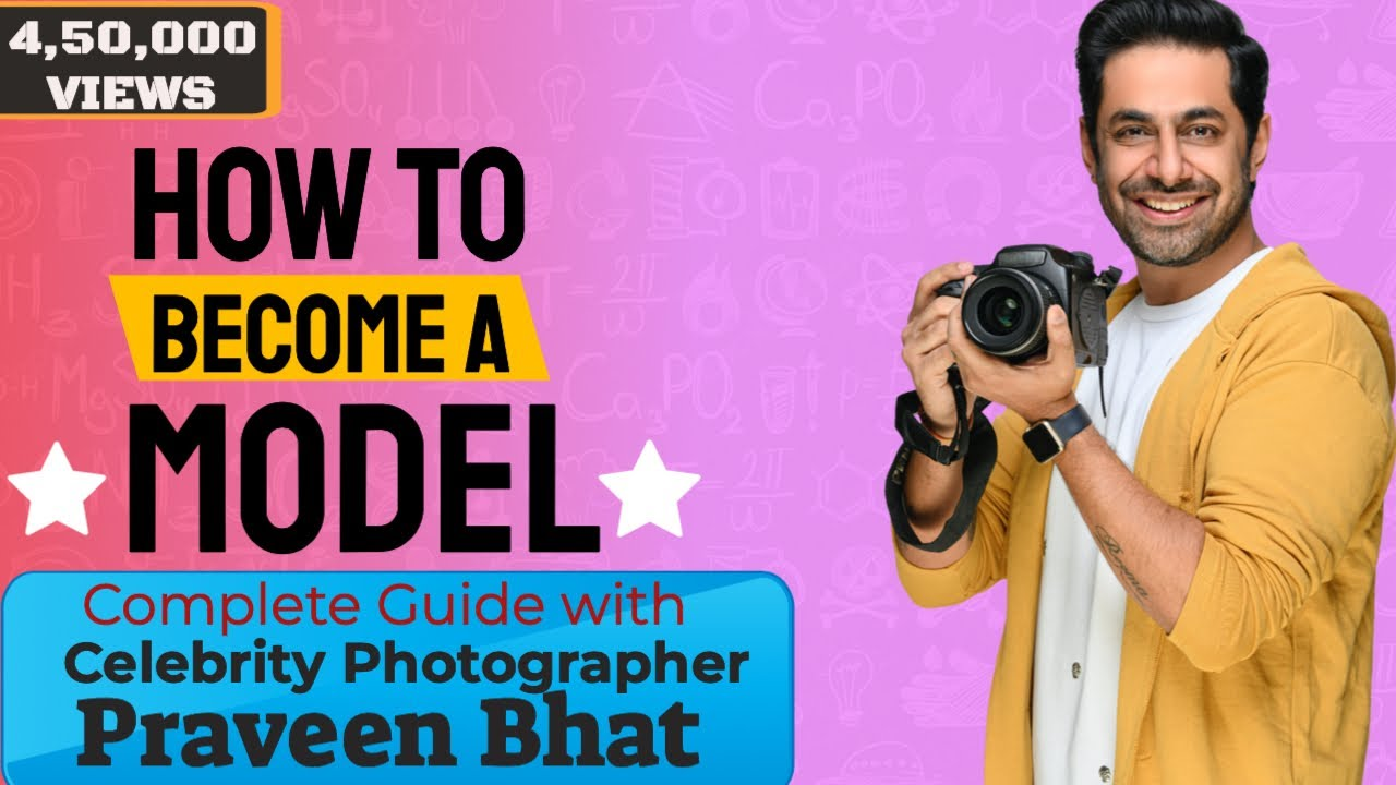 How to become a model in India  Praveen Bhat  YouTube