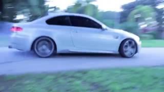 BMW e92 M3 silver stone lifestyle