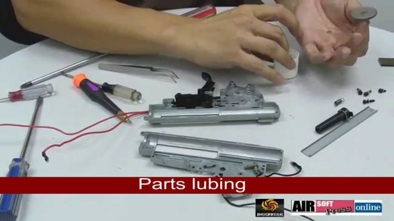 【Airsoft】V3 Gearbox Upgrade using parts from DEEPFIRE
