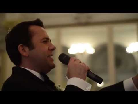 Thumbnail: Michael Buble WEDDING SURPRISE - Wife is speechless when her husband starts to sing