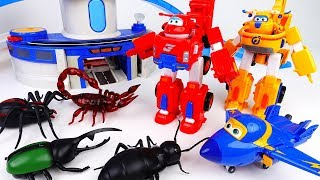 Go Go Super Wings, Defeat Monster Bugs With New Robot Suits